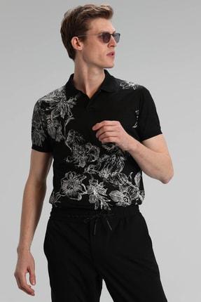 Lufian Mason Spor Polo T- Shirt Siyah
