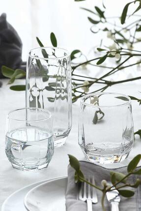 LAV Diamond 18 Parça Meşrubat Bardağı Seti