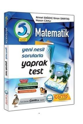 Çanta Yayıncılık Çanta Yayınları 5.sınıf Matematik Yaprak Test