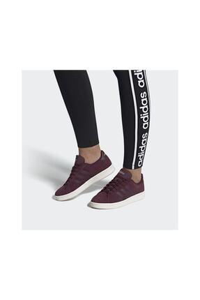 adidas Kadın Bordo Grand Court Günlük Spor Ayakkabı