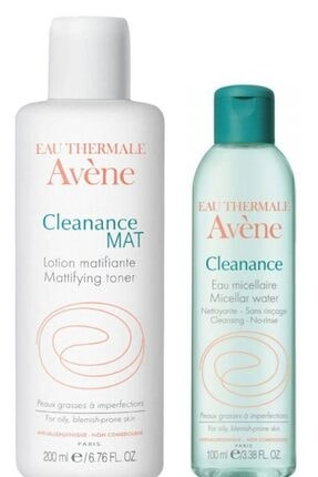 Avene Cleanance Mat Matlaştırıcı Losyon 200 Ml - Cleanance Cleansing Water 100 Ml