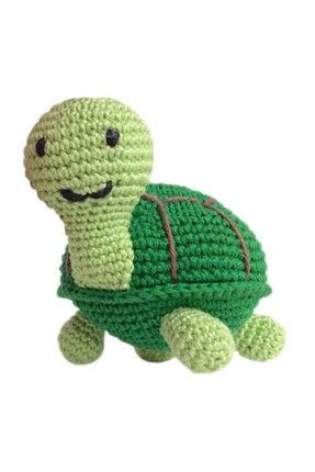 İlmek Bebek Amigurumi El Örgüsü Oyuncak Kaplumbağa Tosbik