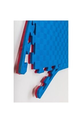 Duyu Atölyesi Mavi Kırmızı 26mm Tatami Minder Zemin Kaplama 100x100cm 26 Mm Kalınlık