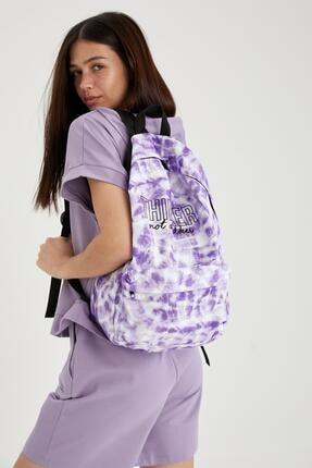 DeFacto Batik Desenli Sırt Çantası