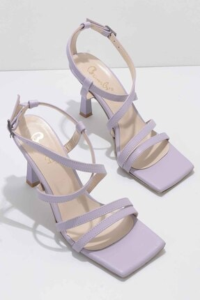 Bambi Lila Kadın Klasik Topuklu Ayakkabı K01527250309