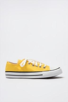 TRENDYOLMİLLA Sarı Kadın Sneaker TAKSS21SN0008