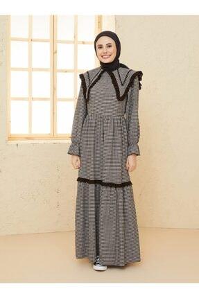 Loreen Kadın Siyah Tesettür Elbise