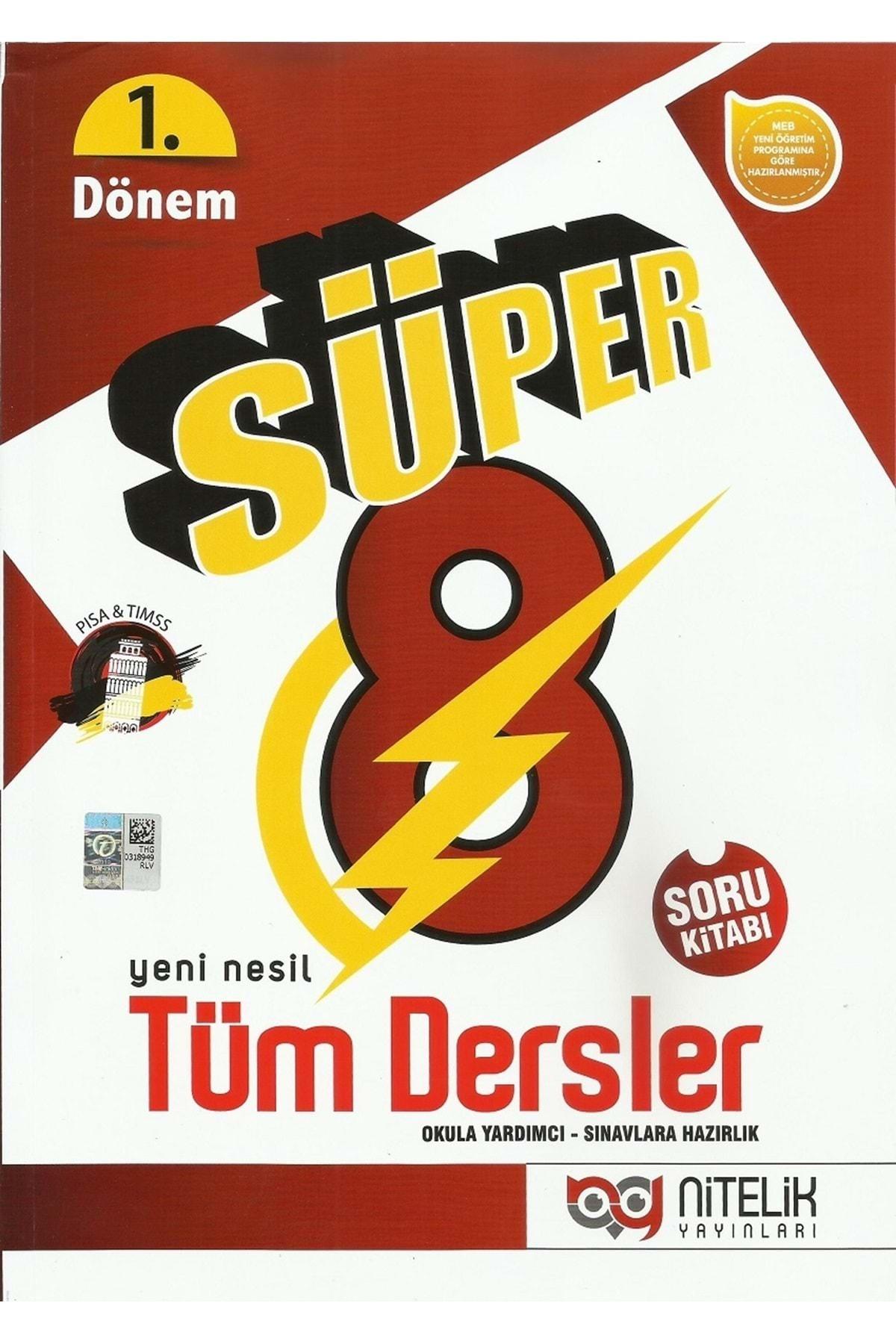 Nitelik Yayınları Nitelik 8.sınıf Yeni Nesil Süper 1. Dönem Tüm Dersler Soru Bankası 1