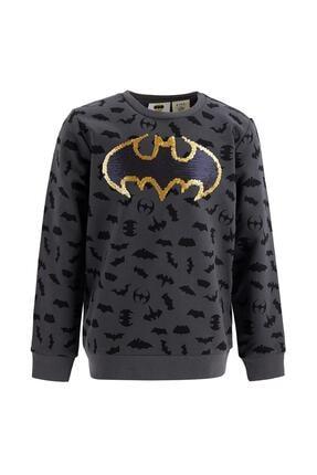 DeFacto Erkek Çocuk Batman Lisanslı Sweatshirt T5958A621SP