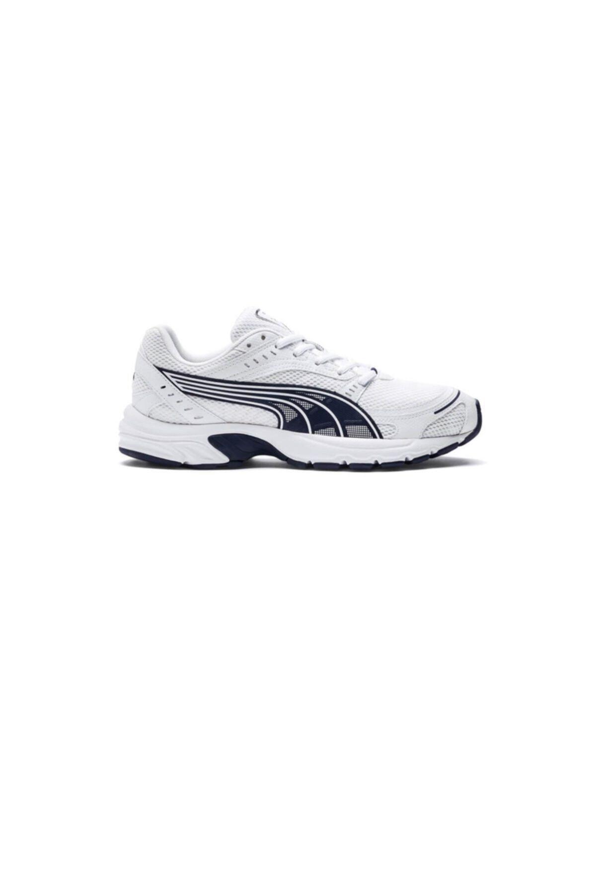 Puma AXIS Beyaz Erkek Koşu Ayakkabısı 100407793 1