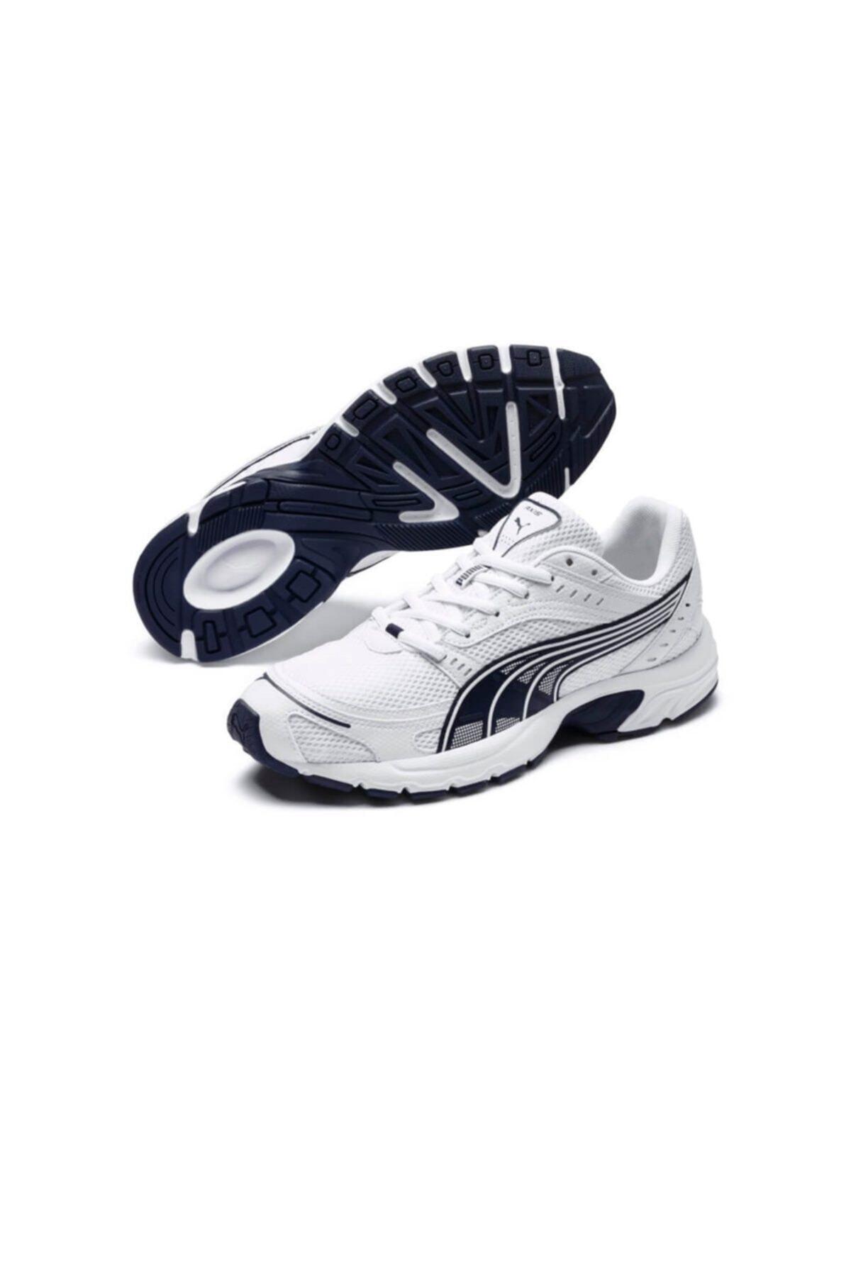Puma AXIS Beyaz Erkek Koşu Ayakkabısı 100407793 2