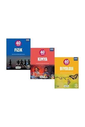 Okyanus Yayınları TYT 40 Seansta Fizik Kimya Biyoloji Seti