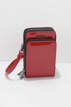 Bambi Kırmızı Rugan Kadın Postacı Çanta C06599069498