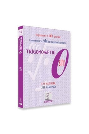Karekök Yayınları Karekök Trigonometri Tyt Ayt Hazırlık Sıfır Yeni