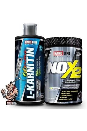 Hardline Nox 2 + L-karnitin Thermo Yeşil Elma Kombinasyonu