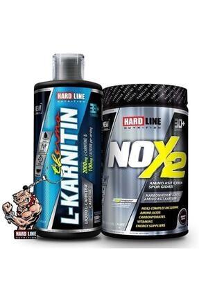 Hardline Nox 2 + L-karnitin Thermo Şeftali Kombinasyonu