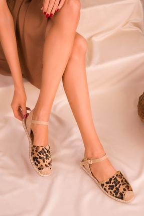 SOHO Leopar Kadın Sandalet 14790