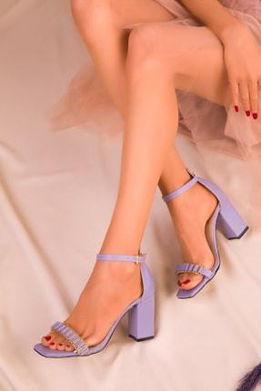 SOHO Lila Kadın Klasik Topuklu Ayakkabı 16232