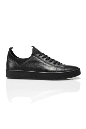 Alba Siyah Hakiki Deri Erkek Ayakkabı