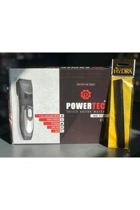 Powertec Saç Sakal Kesme Makinesi 2 Yıl Garantili Yedek Bataryalı + Berber Kesim Tarağı