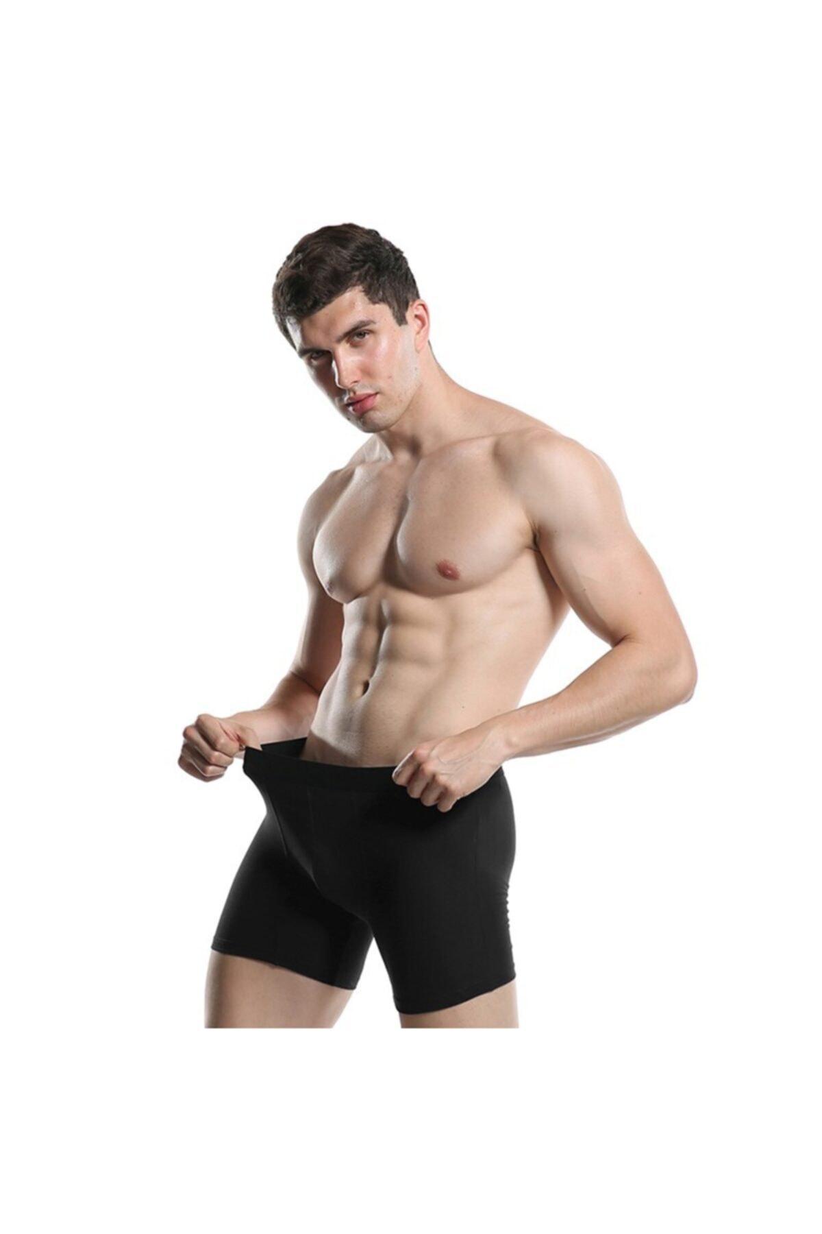 UMFANG Erkek Karışık Boxer 10'lu Pamuklu Likralı 2