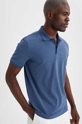 DeFacto Erkek Regular Fit Polo Yaka Basic Tişört