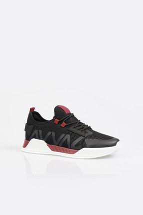 Avva Erkek Bordo Yazı Detaylı Spor Ayakkabı A11y8014