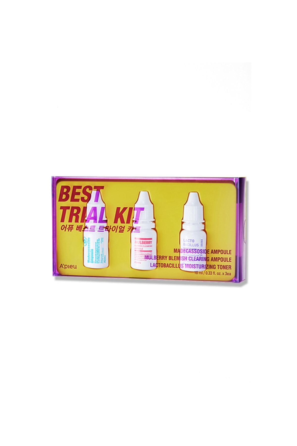 Missha Kuru ve Hassas Ciltler İçin Tonik ve Serum Mini Set (3x10ml) APIEU Best Trial Kit