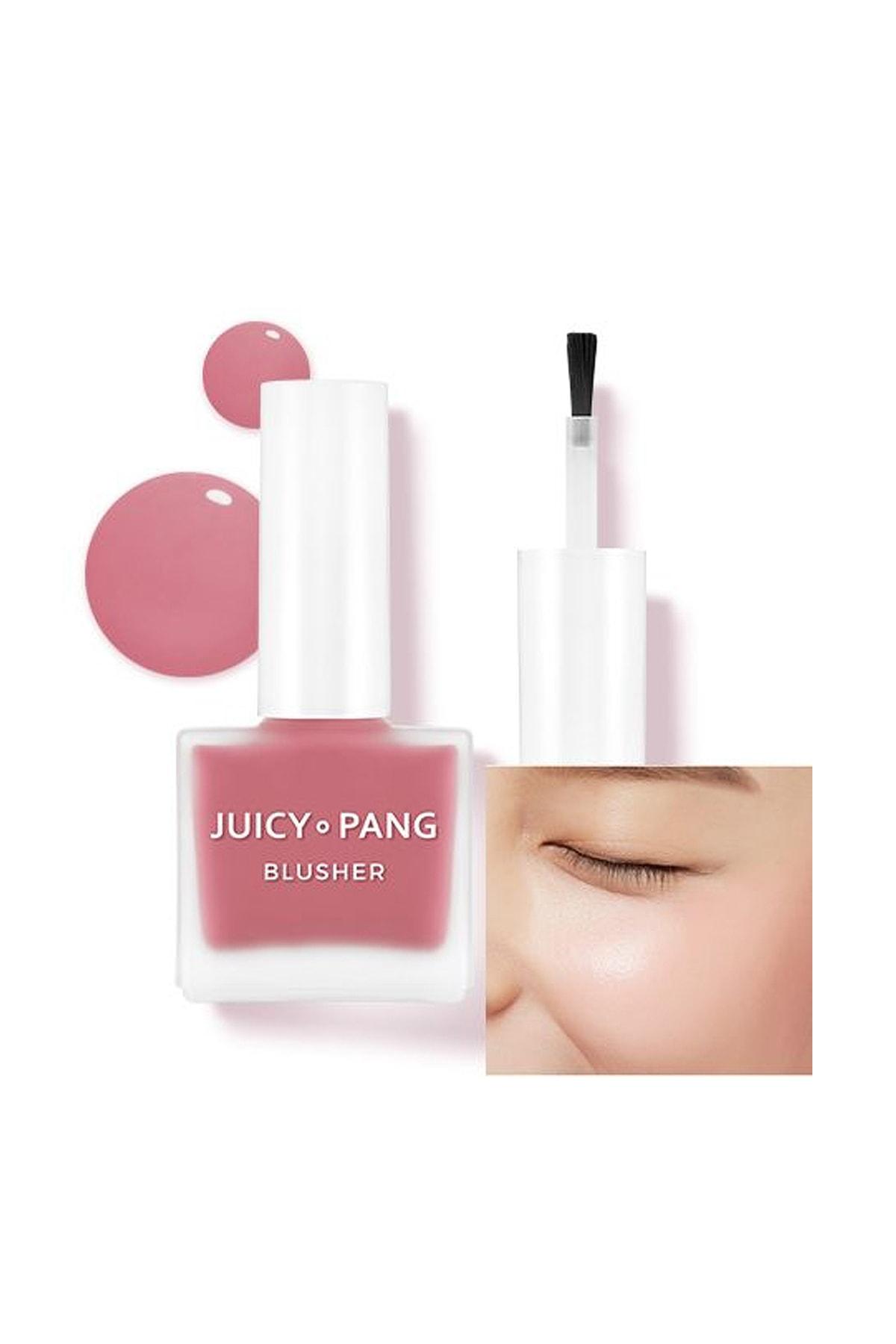 Missha Doğal Görünüm Sunan Nemlendirici Likit Allık 9g. APIEU Juicy-Pang Water Blusher (PK02)