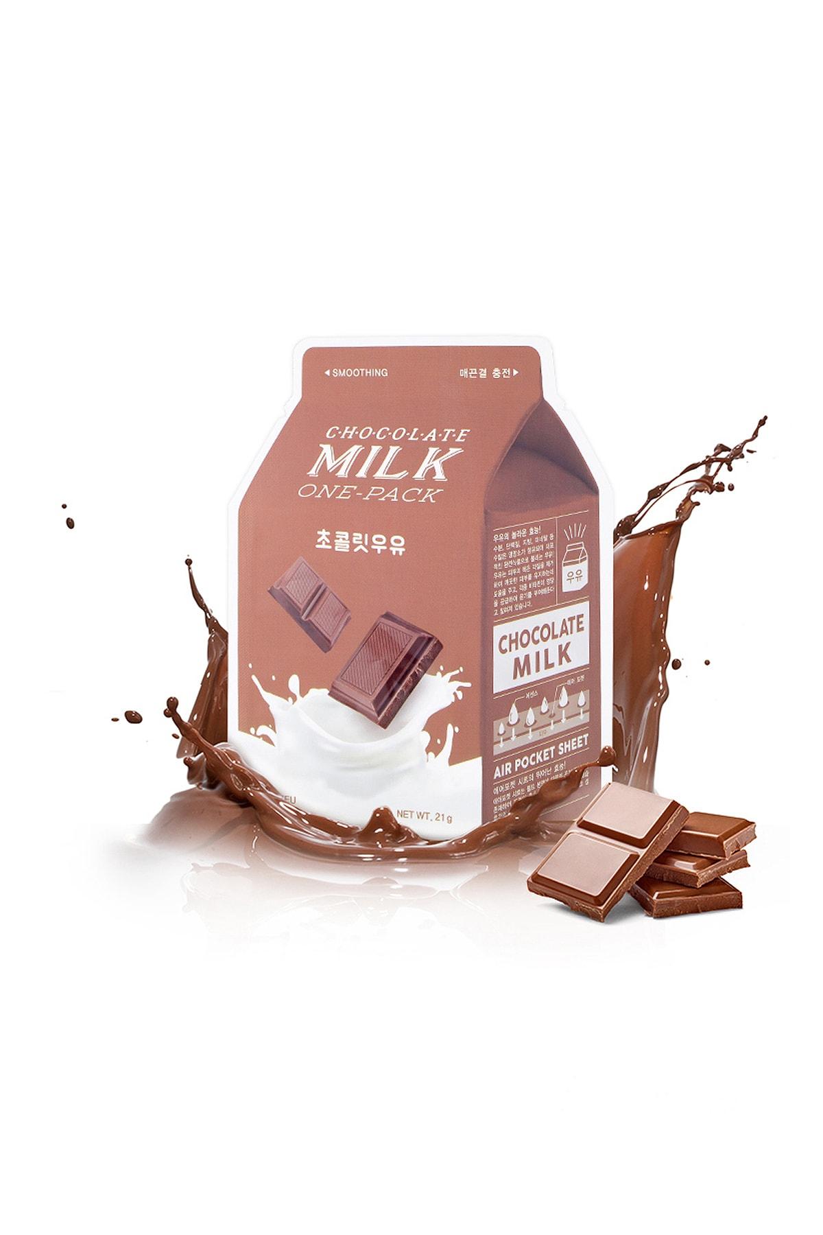 Missha Pürüzsüz Görünüm Kazandıran Yaprak Maske(Çikolata-Süt) APIEU Chocolate Milk One-Pack