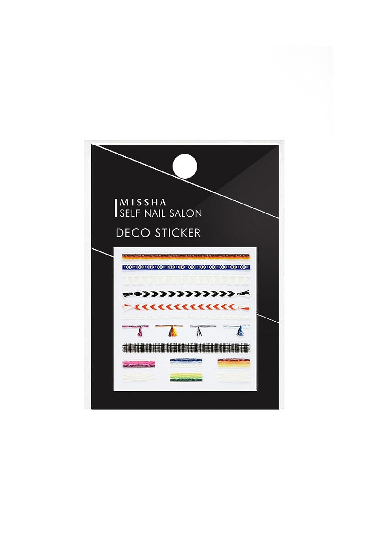 Missha Yapışkan Tırnak Süsü Self Nail Salon_Deco Sticker(No.4/Lucky Ring)
