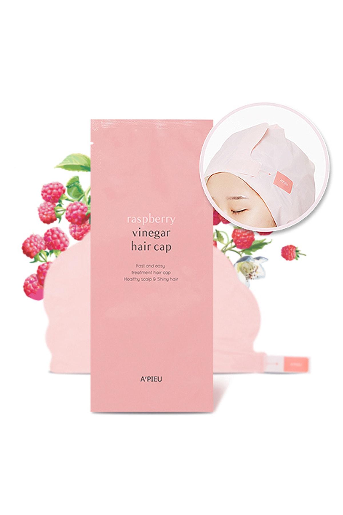 Missha Saçlara Parlaklık Veren Ahududu Saç Maskesi 35g APIEU Raspberry Vinegar Hair Cap