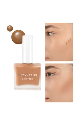 Missha Sıcak Alt Tonlu Likit Bronzlaştırıcı – Doğal Görünümlü Apieu Juicy Pang Bronzer Sun Kissed (br01)