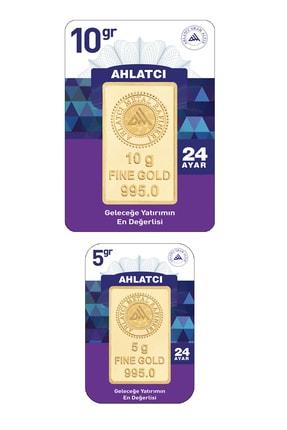 Ahlatcı 24 Ayar-15 Gram Külçe Altın