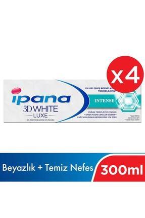 İpana Ipana 3 Boyutlu Beyazlık Luxe Diş Macunu Intense 4*75 Ml