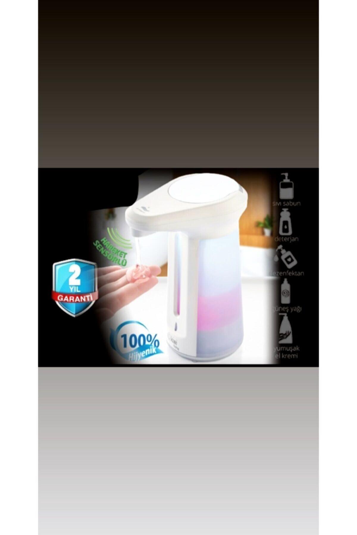 Kiwi Otomatik El Sensörlü Sıvı Sabunluk Ve Dezenfektan 2