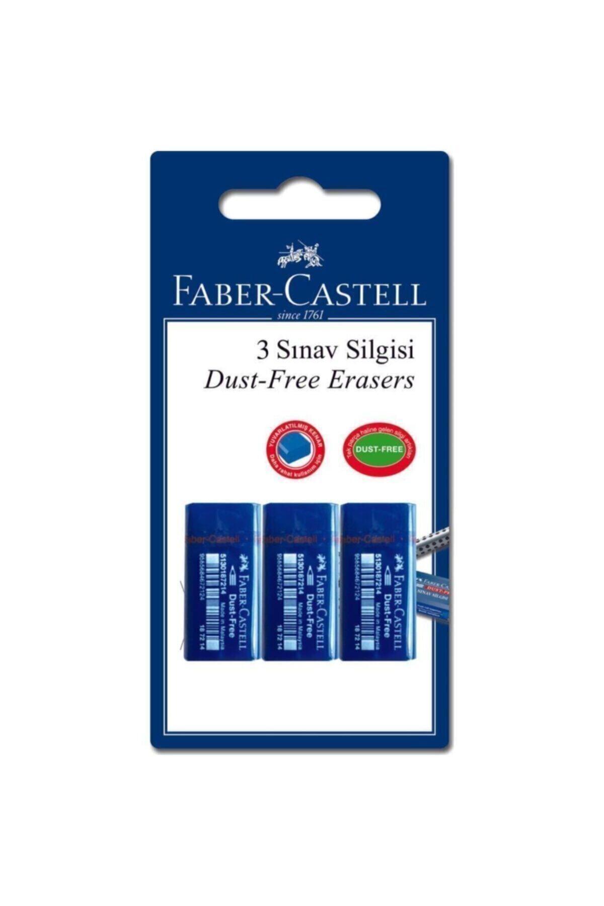 Faber Castell Orta Boy Sınav Silgisi 3 Lü 2