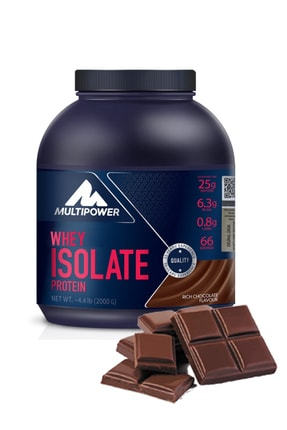 Multipower %100 Whey Isolate Protein 2000 Gr - Çikolata Aromalı Izole Whey Protein