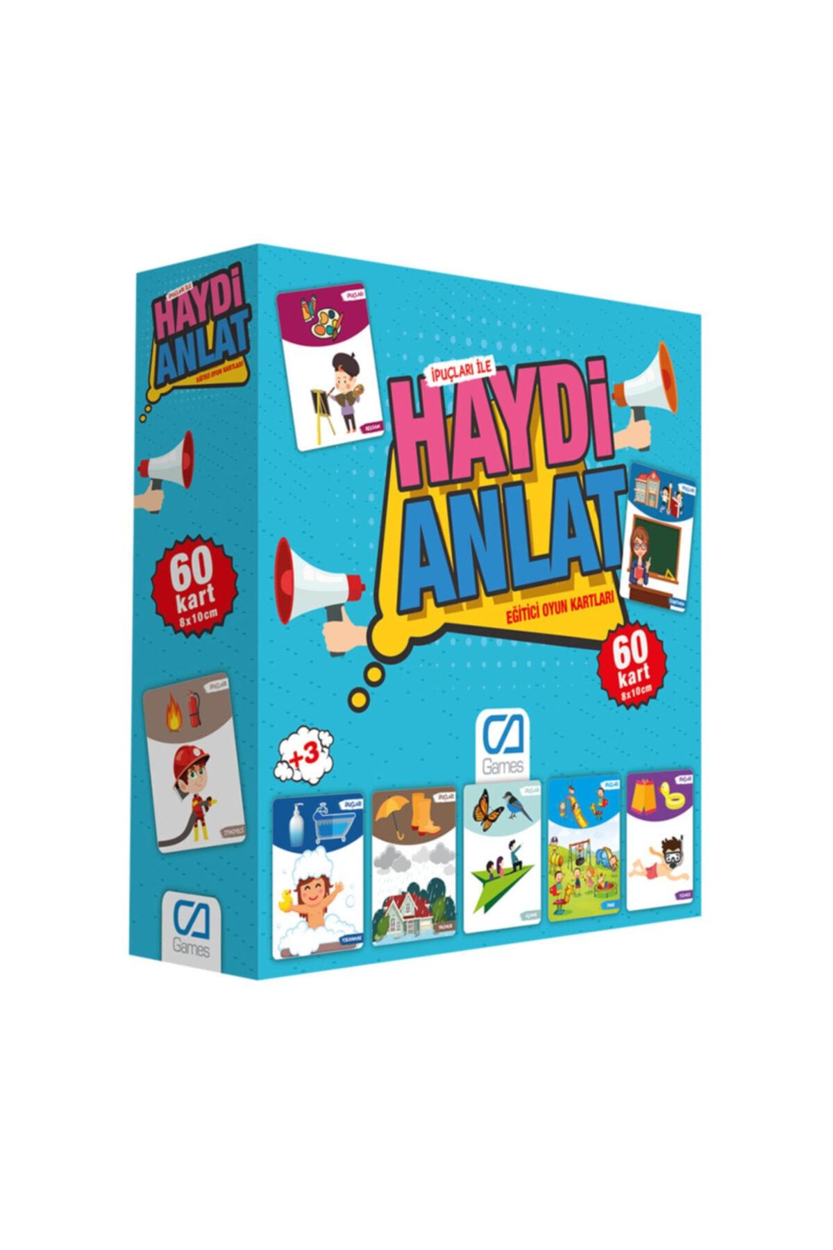 CA Games Haydı Anlat Eğitici Oyun Kartları Ca.5080 1