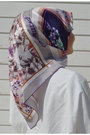 Cacharel Kadın Beyaz İpek Eşarp 7937313-993
