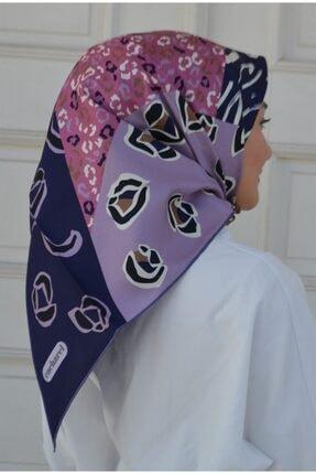 Cacharel Kadın Renkli Desenli Tivil İpek Eşarp 7936313-992