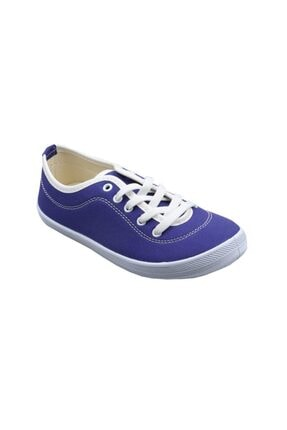 Polaris Kadın  Keten Sneaker Ayakkabı