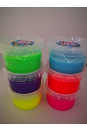 YumToys Oyun Jeli Yumtoys 6'li Renkli Slaym Hazır Slime 6x150gr