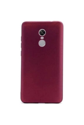 Xiaomi Redmi 5 Plus Kılıf Klasik Mat Renkli Yumuşak Premier Silikon