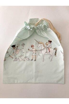 Pamuk & At Çok Amaçlı Bebek Kirli Çamaşır Torbası