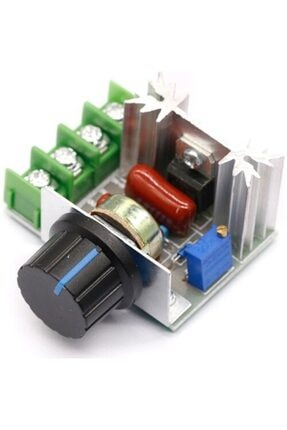 Arduino Dimmer Rezistans Fan Motor Devir Hız Kontrol Devresi 2000 W