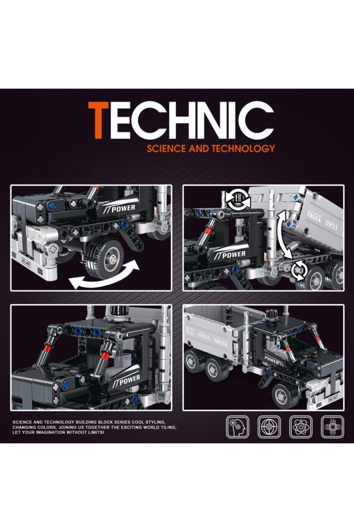 TECHNIC 322 Parça Kamyon Inşaat Iş Makinesi Power 2