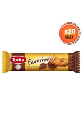 Torku Çikolata Kremalı Bısküvı 76 grX20