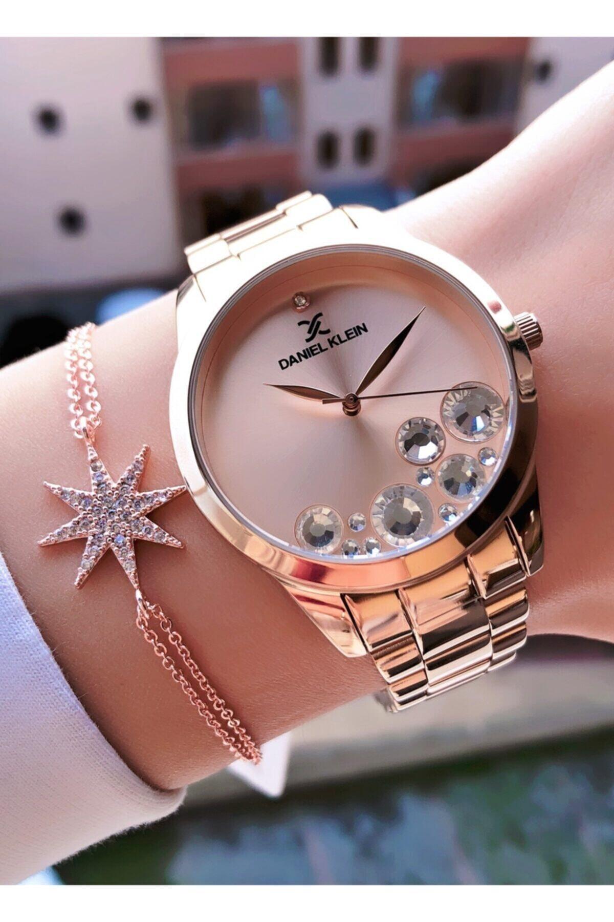 Daniel Klein Marka Kadın Saat Bileklik Hediyeli 1