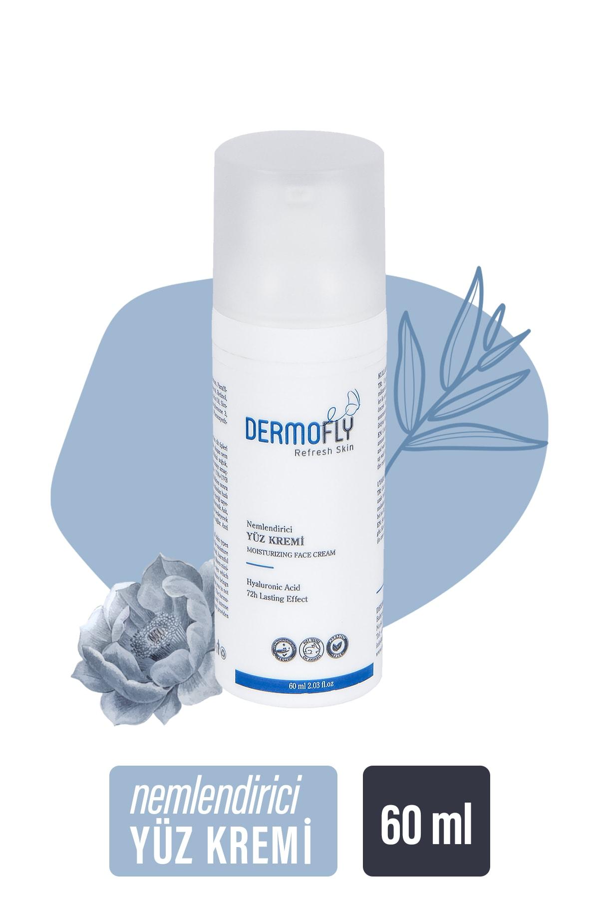 Dermofly Hyaluronik Asit Içerikli Nemlendirici Yüz Kremi 60 ml 1